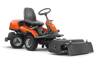Rider 300 with flail mower