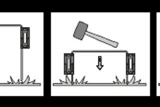Automower Temporary Fence Illustration