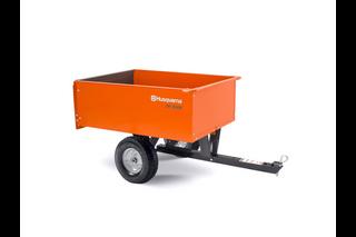 9 cu ft Steel Dump Cart